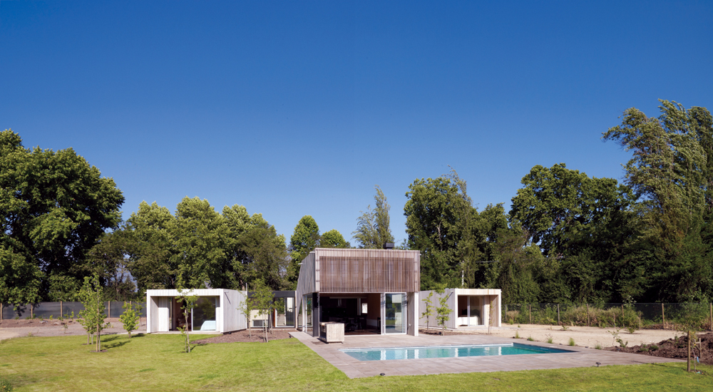 Casa Finger Joint - LAND arquitectos
