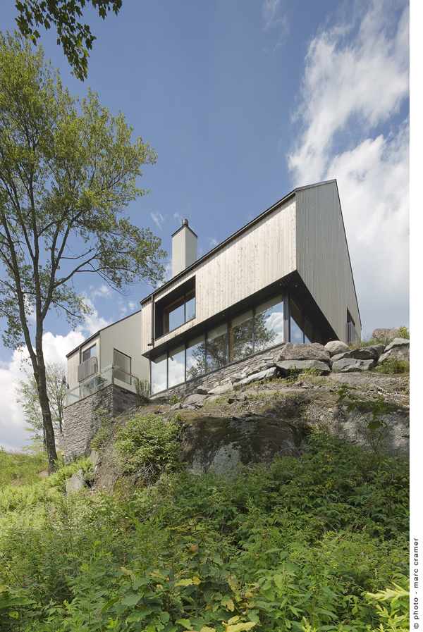 Houle-Thibault residence - Chevalier Morales architectes, Arquitectura, diseño, casas