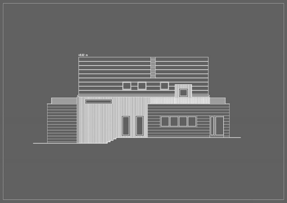 Vivienda en Burów - Wizja Architects, Arquitectura, casas, diseño