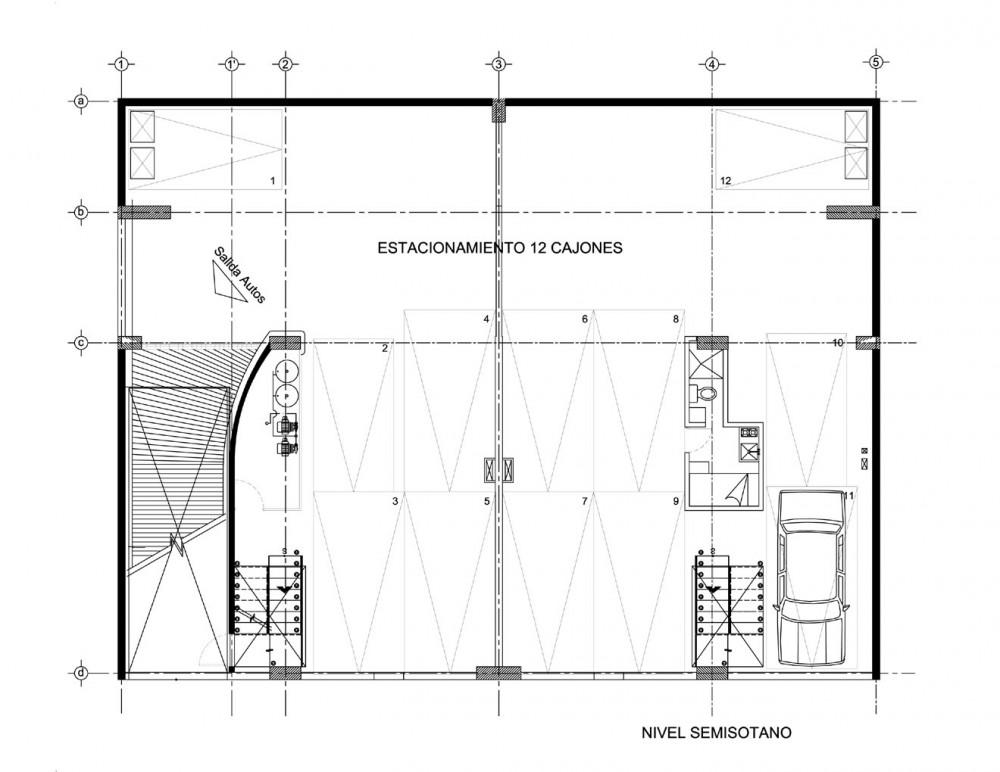 Edificio de viviendas Zitacuaro - Pascal Arquitectos, Arquitectura, diseño, casas