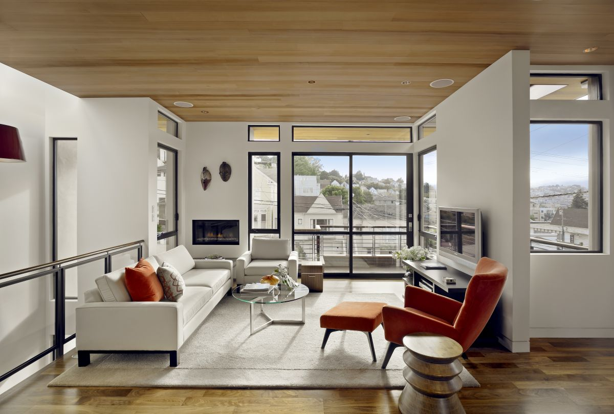 Bernal Heights Residence - SB Architects, Arquitectura, diseño, casas